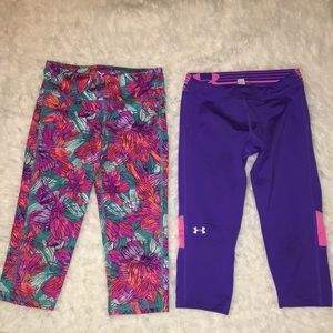 5/$10 2 pieces Old Navy Active and Under Armour